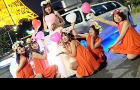 リムジンパーティー 女子会リムジンパーティー リムジン女子会 リムジンレンタル リムジン リムジン誕生日 リムジンサプライズ 女子会