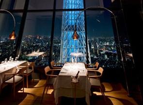 夜景レストラン丸の内(LA SORA SEEDFOOD RELATION RESTAURANT)リムジン