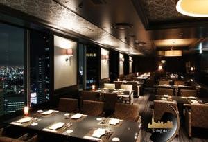 夜景レストラン新宿(SKY GUILD)リムジン