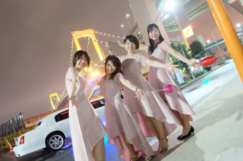 リムジンパーティー服装ドレス