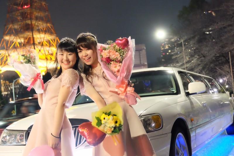 リムジンパーティー東京おすすめ(東京タワー)