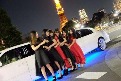 リムジン女子会 (5)
