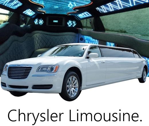リムジン車種クライスラー300リムジン