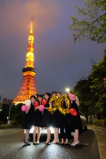 リムジンパーティー 東京 誕生日