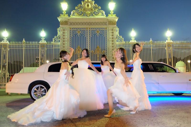 ウエディングドレス女子会5