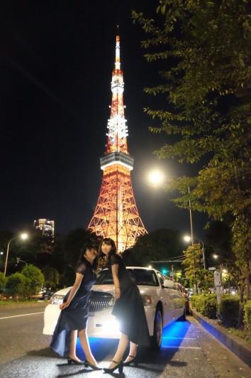 東京タワー撮影
