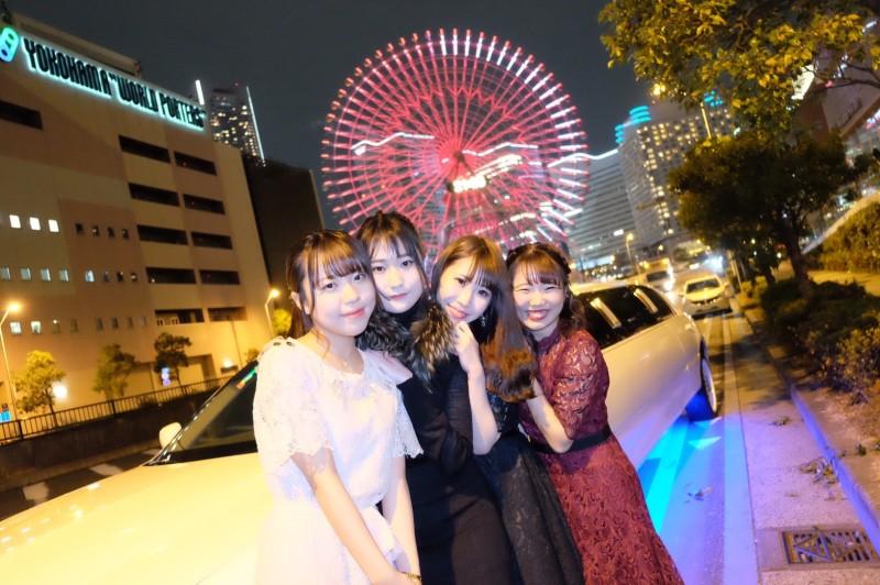 【11月20日】リムジンパーティー横浜:女子会プラン (3)