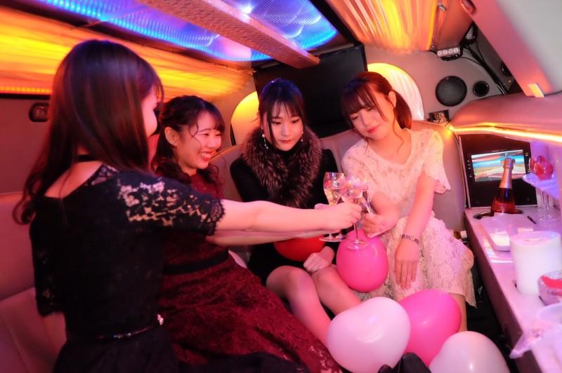 【11月20日】リムジンパーティー横浜:女子会プラン (5)
