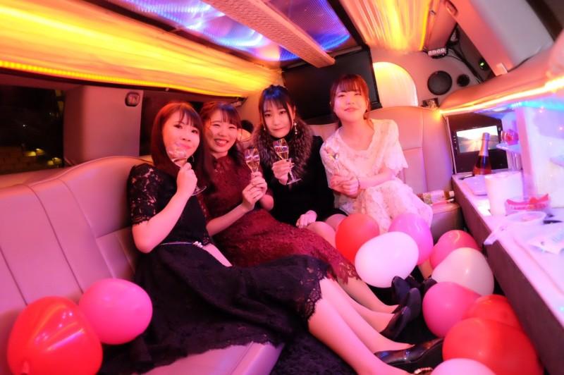 【11月20日】リムジンパーティー横浜:女子会プラン (6)